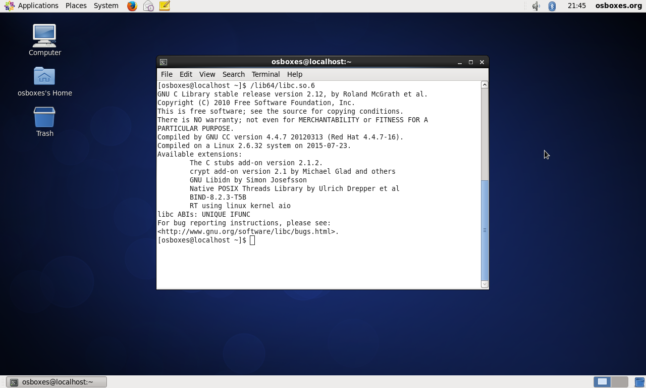 Transplanting Linux Libraries to a Shared Host