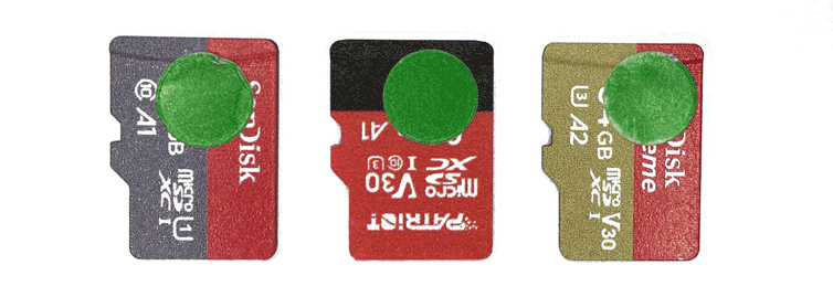 Most performant microSD cards